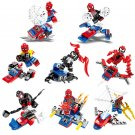 Spider-Man Venom Carnage 8in1 Minifigures Lego Compatible Super Heroes Toy
