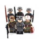 WW2 Germany Officer Medics Soldiers Minifigures Lego Compatible Military series