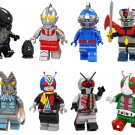 Alien Masked Rider Baltan-seijin Minifigures Lego Compatible movie sets