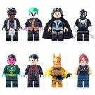 Mr Marvel Sinestro Superboy Gold Batman Minifigures Lego Compatible Superhero Toy