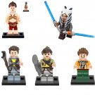 Leia Slave Ahsoka Tano Zander Minifigures Lego Compatible Star Wars sets