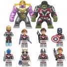 Hulk Black Widow Ant-Man Thor Quantum Suit Avengers Endgame Minifigures Lego Compatible Toy