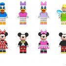 Tinker Bell Donald Daisy Minnie Mickey Minifigures Lego Compatible Toy