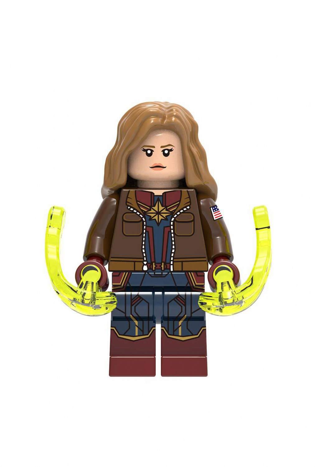 Captain Marvel Flying suit Minifigures Lego Compatible Toy