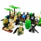 16pcs Seal Team Soldiers Minifigures Lego Compatible military set