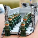 WW2 America Higgins Landing Craft building Toy Compatible Lego Soldiers Minifigures