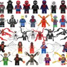 32pcs Spider-Man Venom Into the Spider-Verse Super Heroes Minifigures Lego Compatible Toy