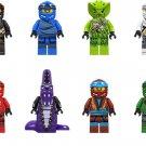 Cole Chap'rai Kai Nya Chokun Minifigures Lego Compatible Ninjago set