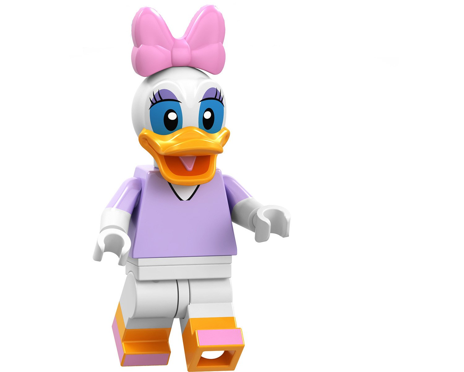 Daisy Duck Minifigures Lego Compatible Toy