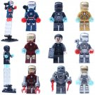 Super Hero Iron Man Avenger DC Tony Stark Minifigure Compatible Lego Toy