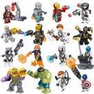 16pcs Avengers Ultimate Quinjet Minifigures Lego Compatible Toy