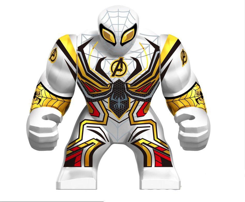 Big Spider-Man Quantum suit Minifigures Lego Compatible Toy