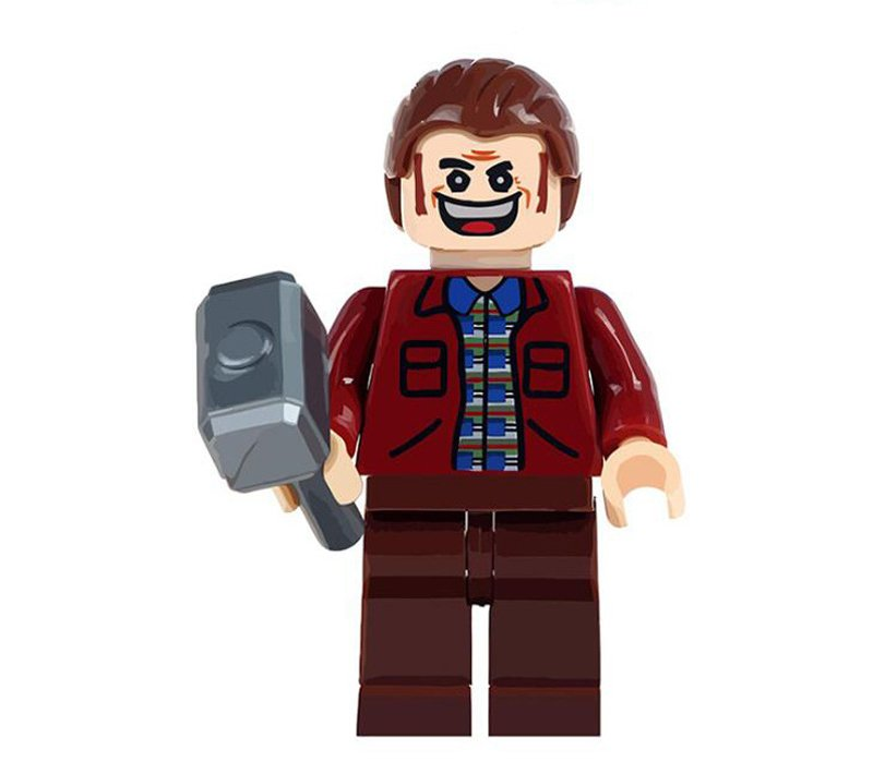 Here is Johnny Minifigures Lego Compatible Toy