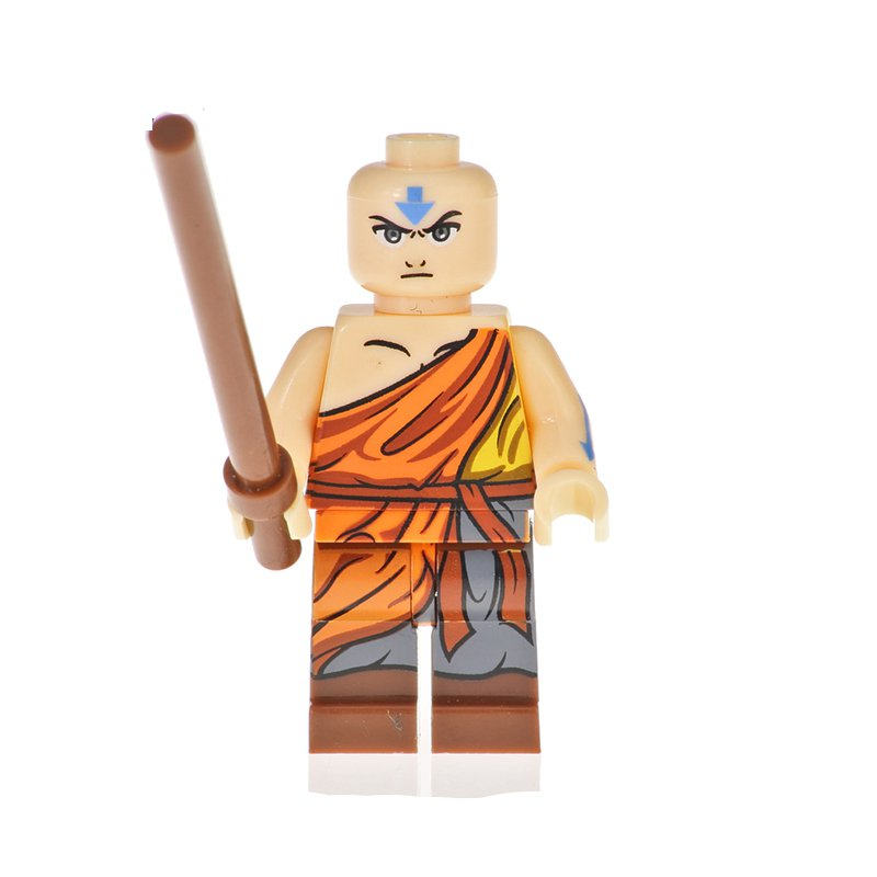 Aang Minifigures Lego Compatible Avatar Toy