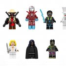 Black Cat Black Panther Dagger Black Lightning Minifigures Lego Compatible Super Heroes sets