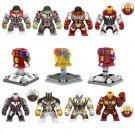 8pcs Big Avengers Endgame Super Heroes Infinity Gauntlet Minifigures Lego Compatible Toy