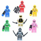 Mighty Morphin Power Rangers Minifigures Lego Compatible Comic series