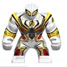 Big White Spider-Man Minifigures Lego Compatible Toy