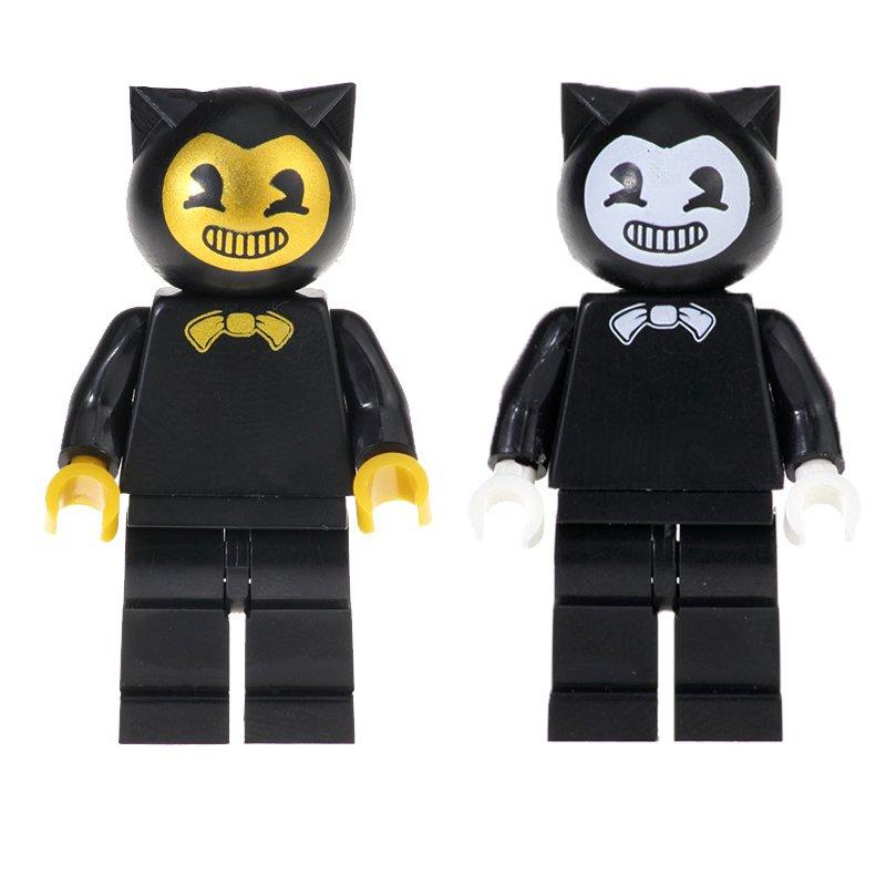 2pcs Bendy Minifigures Lego Compatible Comic Toy