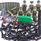 WW2 American Commando Pacific War Minifigures Lego Compatible Military Toy