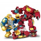 8in1 Thanos Hulkbuster Minifigures Lego Compatible Avengers Toy