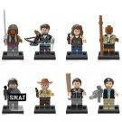 The Walking Dead Season 9 Minifigures Lego Compatible TV Toy