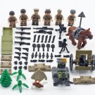 WW2 USSR Infantry Minifigures Lego Compatible military sets