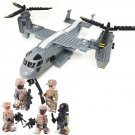 Boeing Bell V-22 American special forces Minifigures Lego Compatible Toy