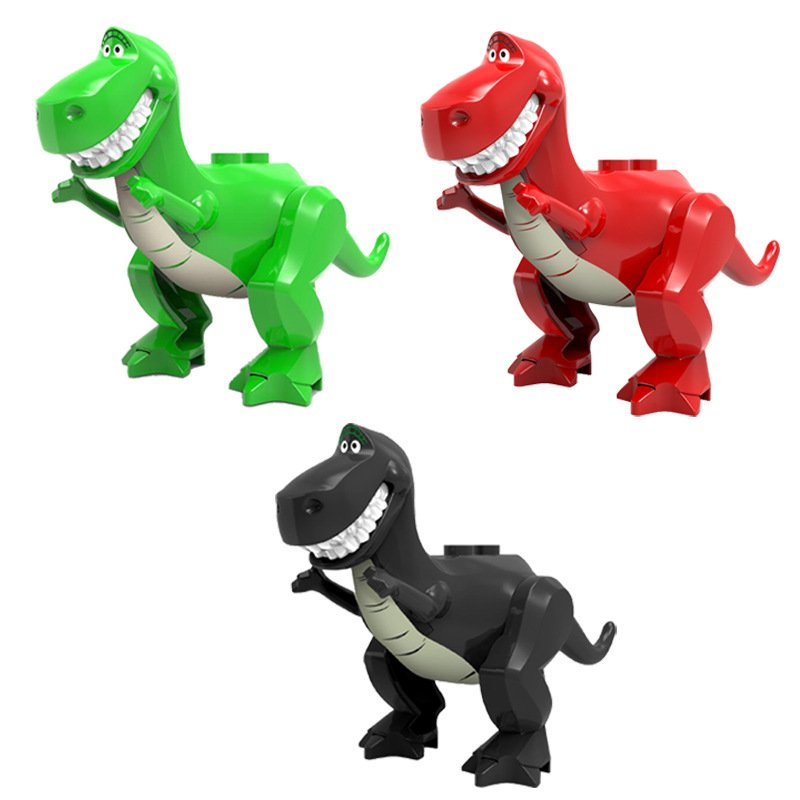 3pcs Rex Toy Story Minifigures Lego Compatible Toy