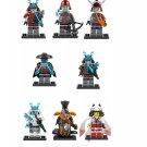 Ice Emperor Akita General Vex Blizzard Archer Minifigures Lego Compatible Ninjago set