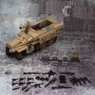 WW2 Germany Sdkfz251 Armored vehicle Minifigures Lego Compatible Military sets