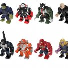 Big Hulk Hulkbuster Kingpin Venom Minifigures Lego Compatible Avengers Toy