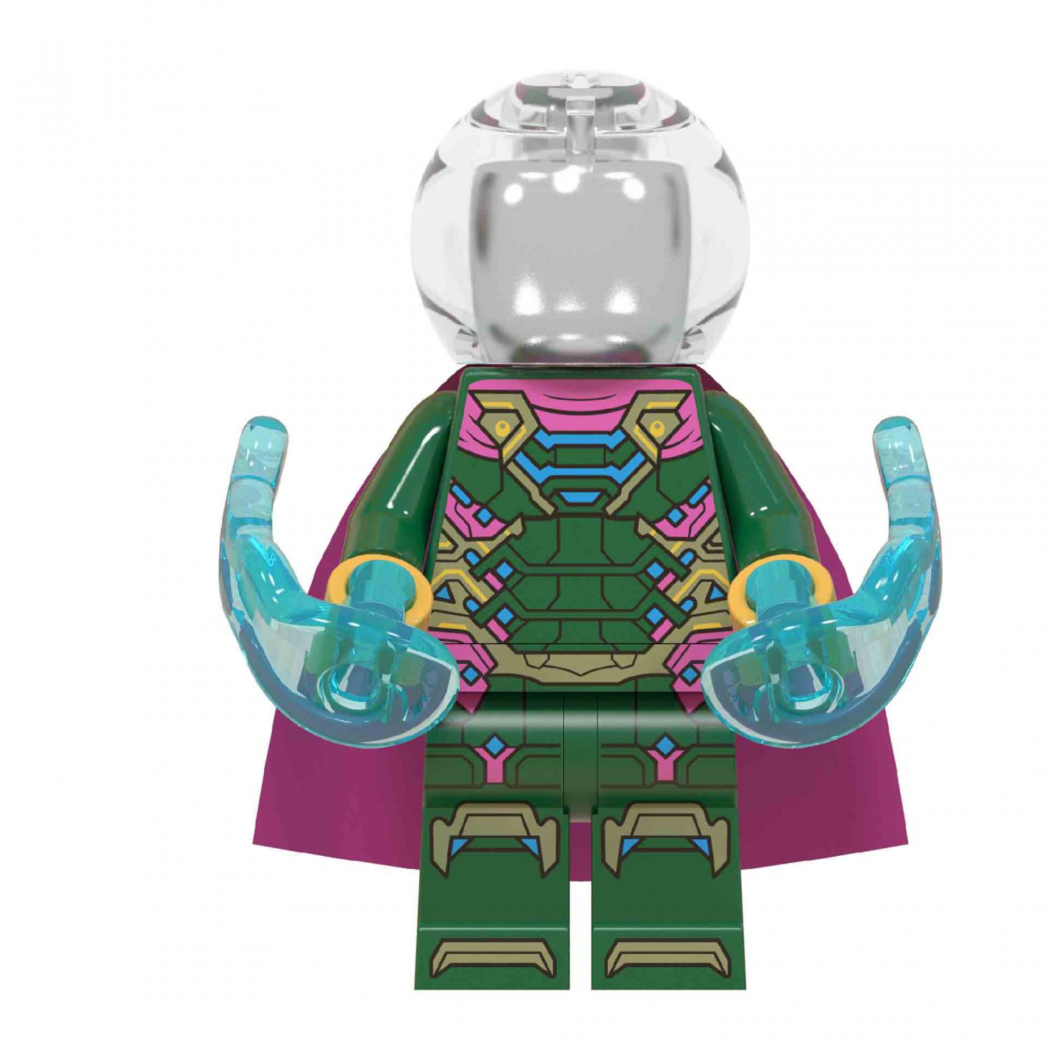 Mysterio Minifigures Lego Compatible Spider-Man Far From Home Toy