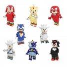 8pcs Sonic Adventure Minifigures Lego Compatible Toy