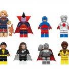 Vixen Steel Doctor Light Black Adam Atom Minifigures Lego Compatible Super Heroes Toy