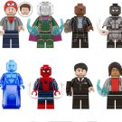 Spider-Man Far From Home Peter Parker Mysterio Hydro-Man Minifigures Lego Compatible Toy