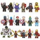 17pcs Avengers Endgame 2019 Minifigures Lego Compatible Toy