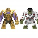 Robert Bruce Banner Hulk Thanos Minifigures Lego Compatible Avengers Endgame Toy