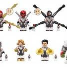 Deadpool Venom Spider-Man Black Panther Quantum suit Minifigures Lego Compatible Toy