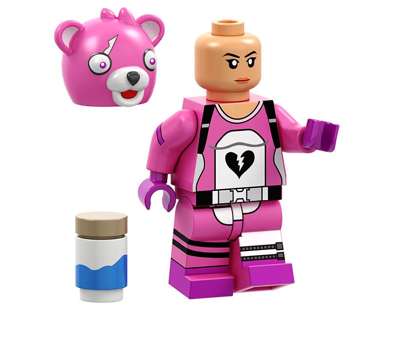 Cuddle Team Leader Minifigures Lego Compatible Fortnite Toy