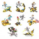 8in1 Avengers Endgame Quantum laboratory Minifigures Lego Compatible Super Heroes Toy