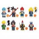 Gogeta Son Gohan Kanba Tapion Mira Minifigures Lego Compatible Dragon Ball Z
