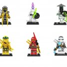 Golden Ninja Kai Zane Yang Minifigures Lego Compatible Ninjago Sets