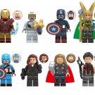 New Avengers Chitauri Thor Hawkeye Loki Minifigures Lego Compatible Toy