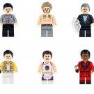 Beckham Mr.Bean Stephen Curry Minifigures  Lego Compatible Star Sets
