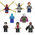 Spider-Man Far From Home movie Minifigures Michelle Jones Happy Hogan Lego Compatible Toy