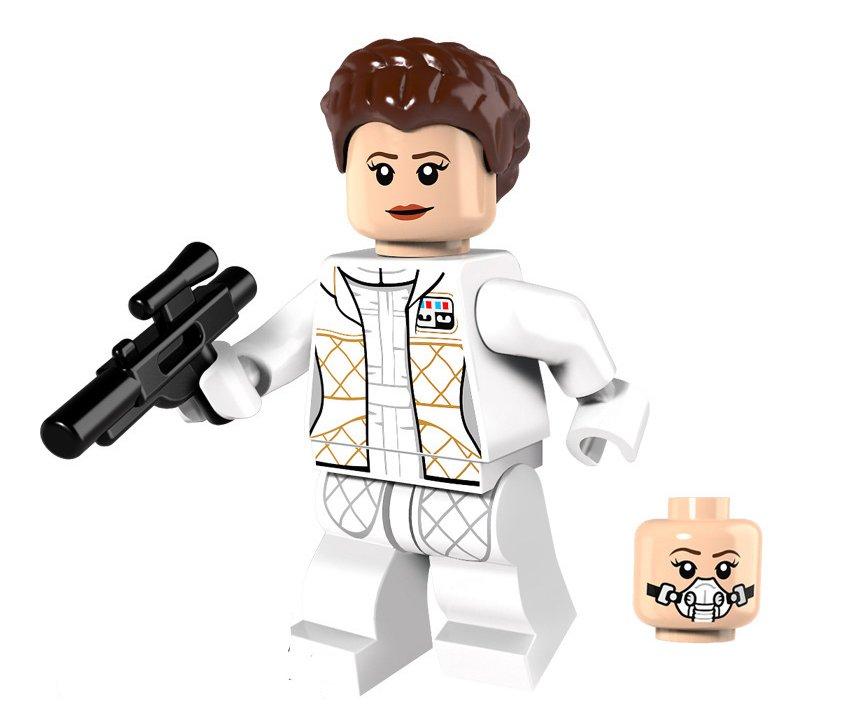 Leia Organa Minifigures Lego Compatible Star Wars Toy