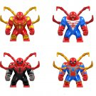 Spider-Man in Steel Armor Spider-Man in Polar Armor 2011 Minifigures Lego Compatible Toy
