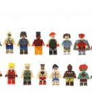 16pcs Street Fighter Minifigures Lego Compatible Game sets