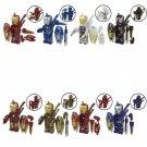 8pcs lron Man Nanometre shield Minifigures Lego Compatible Toy